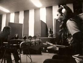 1975 Víctor,Toti,Dave,Xavier (gravant als estudis Gema)