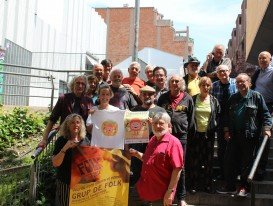 Grup de Folk 2018 i organitzadors