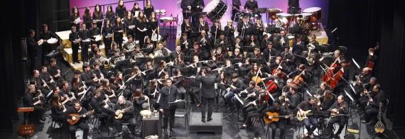 Botifarra a banda amb la Societat Musical del País Valencià a Barcelona