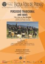 Taller de percussió tradicional amb Nan Mercader
