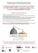 Invitació Guarnir el món de festa