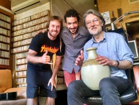 2016 David Blanco, Migue de la Rosa i Xavier (a Bitstudi)