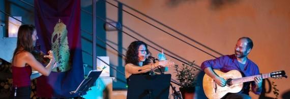 La Taverna del CAT: Marie Perera, Héctor Serrano i Patri Garcia