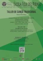 CARTELL TALLER DE CANÇÓ 2016 2017