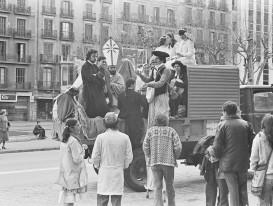 Xavier Alamany. Gràcia, Carnestoltes 1980